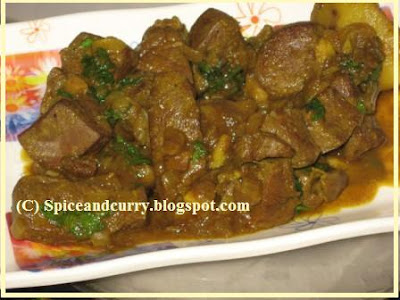Spice and curry maeter jhal mutton liverkaleji spicy fry happy cooking friends ccuart Image collections