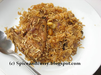 Spice and Curry: Chicken Yakhni Pulao