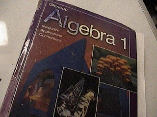 used algebra text book