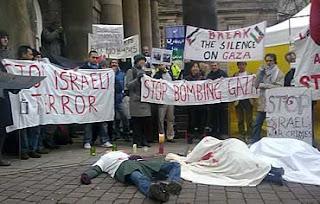 Gaza Vigil in Lancaster