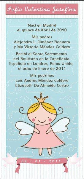 Felicitaciones para los padrinos de bautismo for Poemas para bautizo