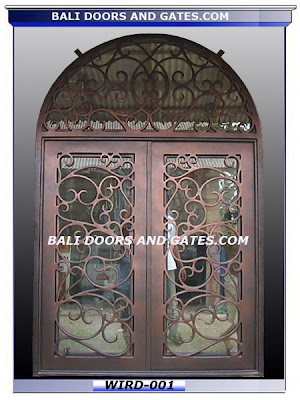 Wood Doors And Wrought Iron Gates Direct From Bali Factory