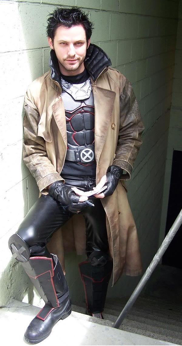 Gambit And Rogue Halloween Costume x Men Rogue Gambit Costumes