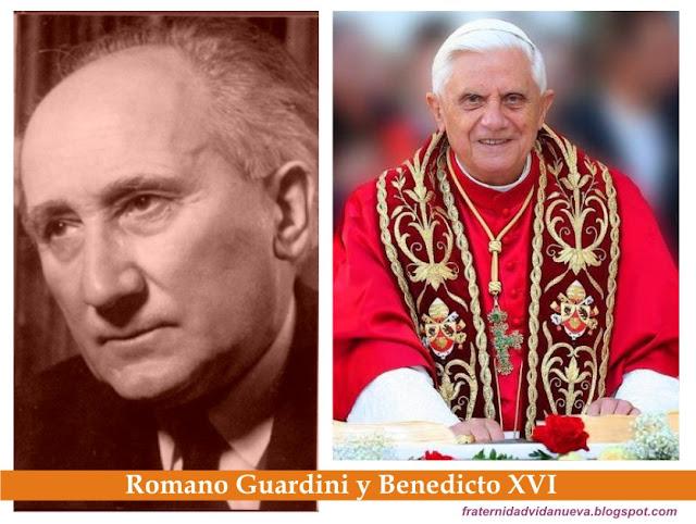 Romano Guardini Matrimonio : Fvn benedicto xvi evoca la herencia espiritual de su