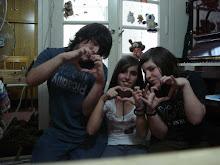 Lau, Vero y yo