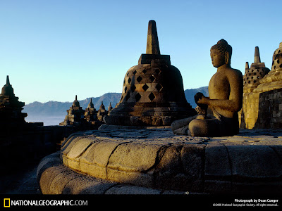 Asal usul terjadinya candi Borobudur di Indonesia