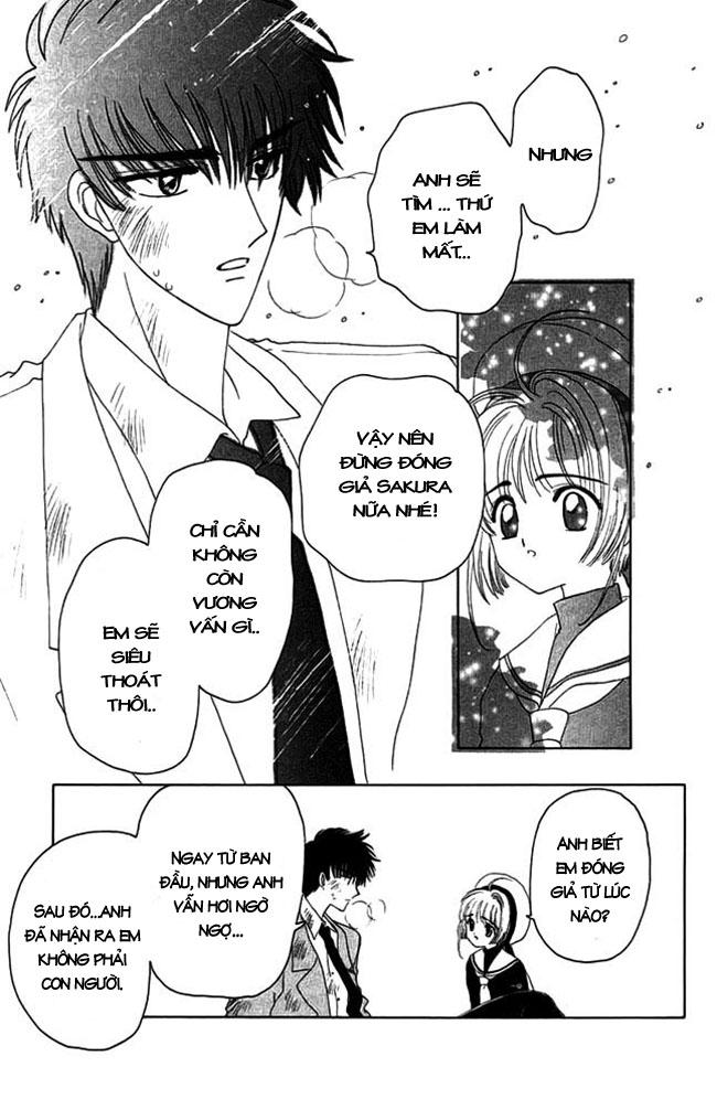 Card Captor Sakura – Thủ Lĩnh Thẻ Bài chap 13 Trang 19