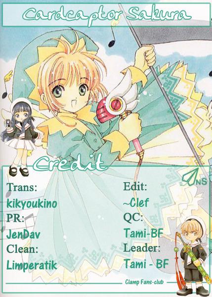 Card Captor Sakura – Thủ Lĩnh Thẻ Bài chap 13 Trang 1