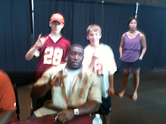 My brother and I with Brian Orakpo