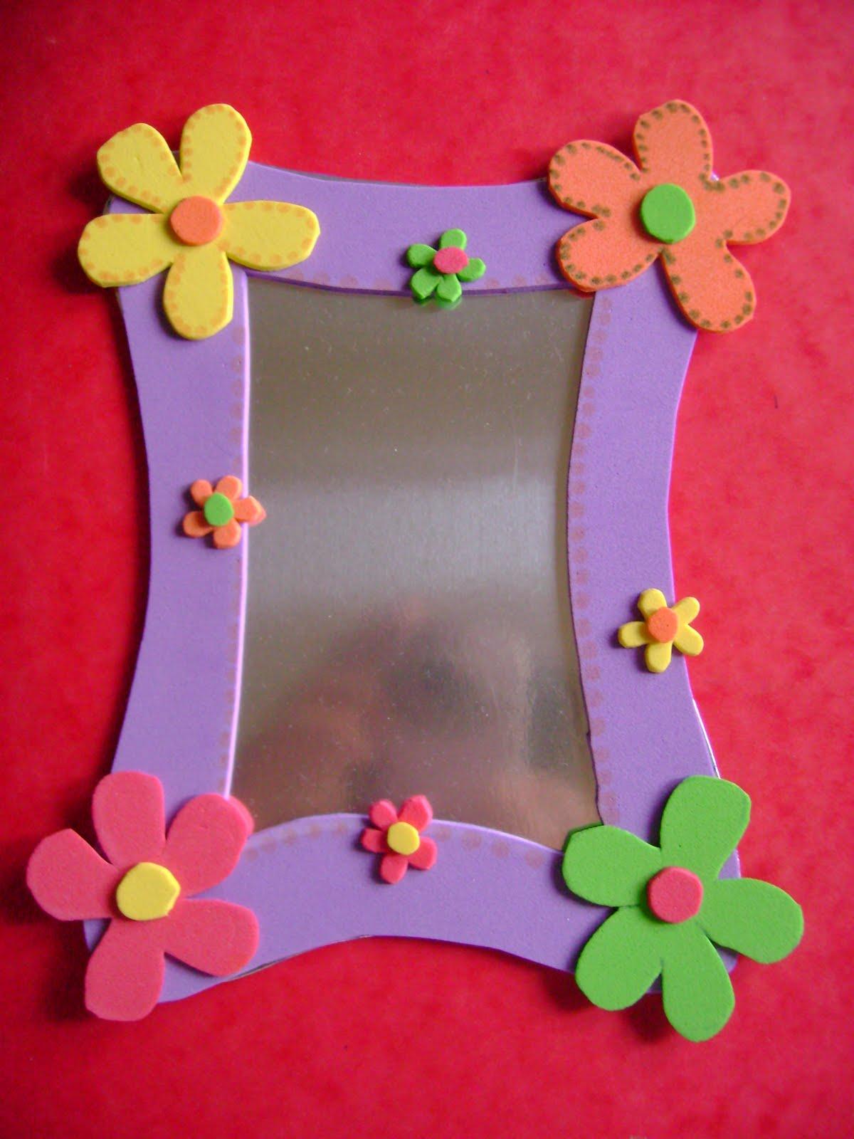 El blog encantado abril 2010 - Como hacer un marco de fotos a mano ...