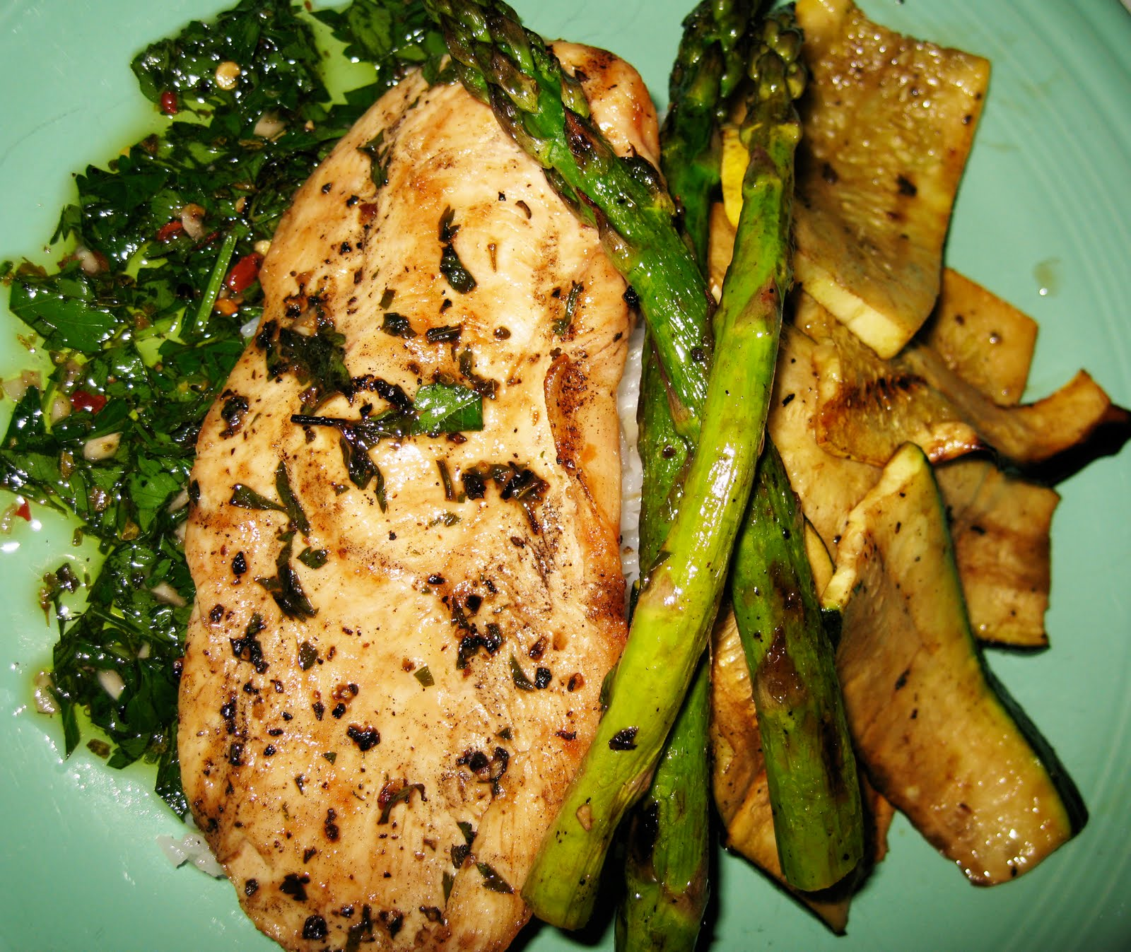 Straight No chaser: Chicken Chimichurri Grill