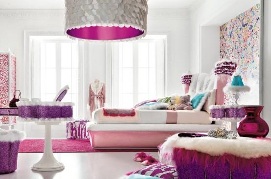 Amor Imparable (nick y tu)♥  Nueva novela♥  - Página 5 Charming-and-opulent-Pink-girls-room-Altamoda-Girl-6-554x366