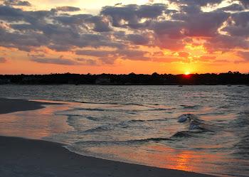 coastal carolina sunset