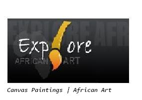 Canvas Painting | African Paintings