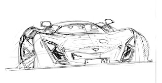 Marussia B2 Sketch