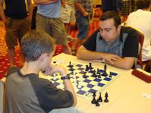 Kayden and Grandmaster Tigran Petrosian
