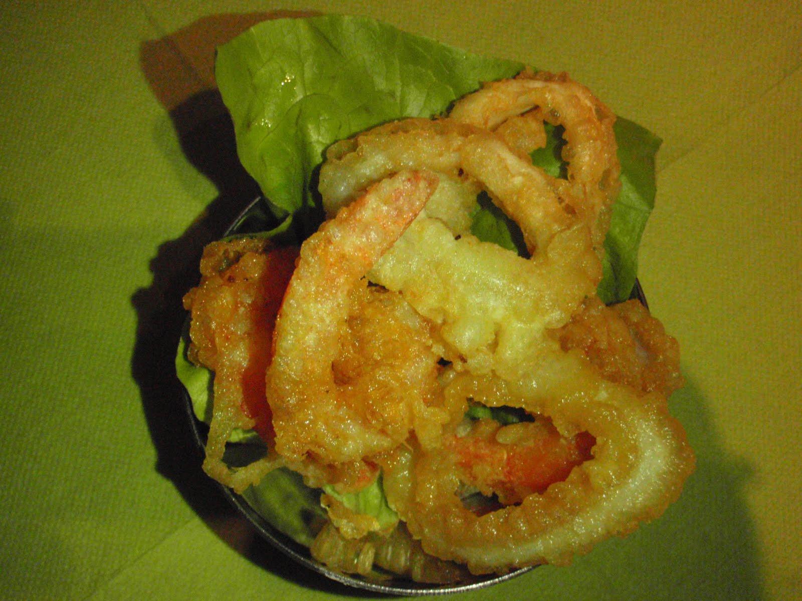 mon carnet de cuisine tempura de crevettes et calamars. Black Bedroom Furniture Sets. Home Design Ideas