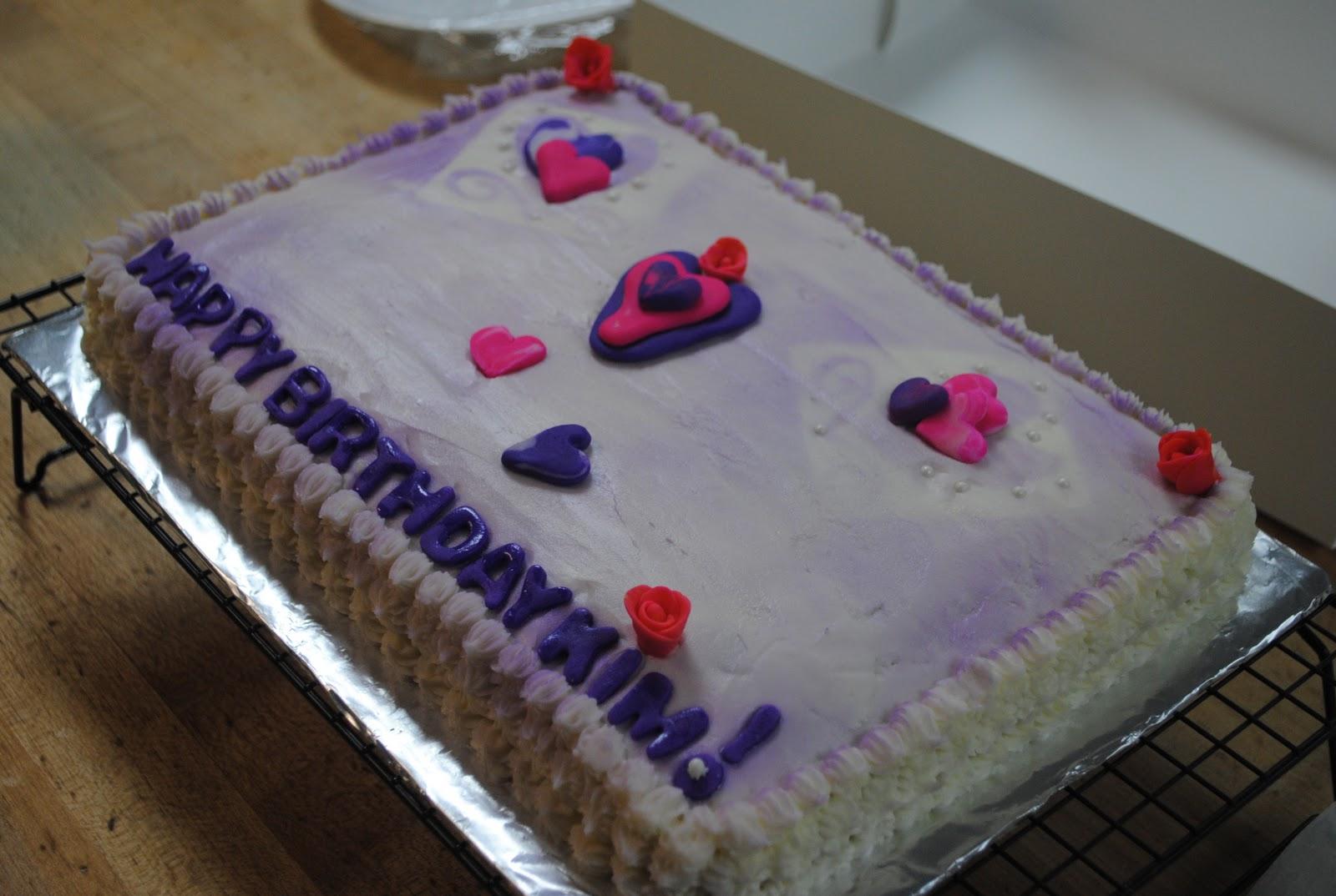 Cakes By Liz Poston The Happy Birthday Kim Cake