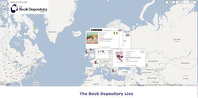 Bookdepository crea una cartografa de los compradores de libros gumiabroncs Gallery
