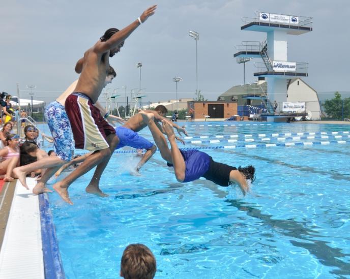 Jersey Shore Pa Swim High Dive Field Trip To Psu