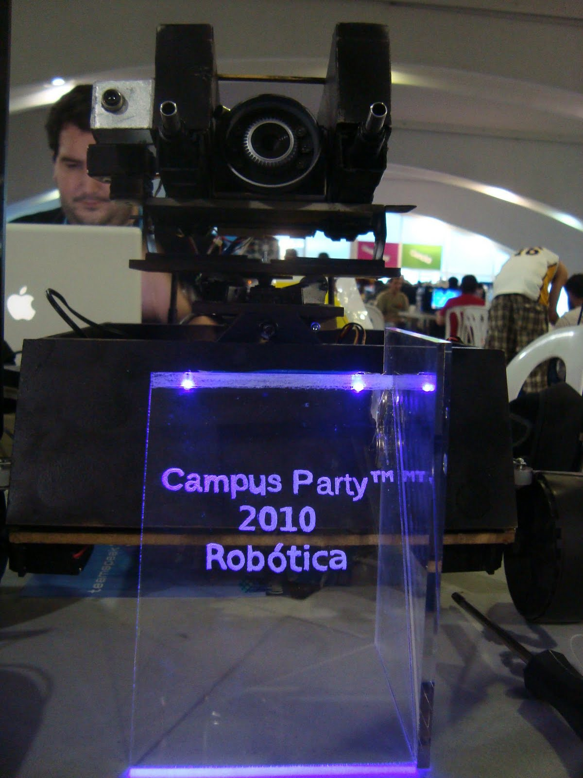 Texas Ranger, 1st place on Campus Party 2010 Free category