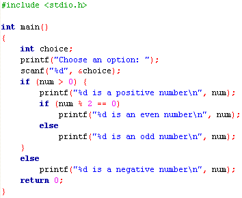 beginning C programming: Tutorial 5.3: Nested if Selection Structure