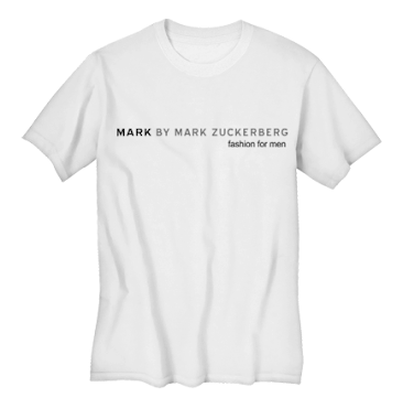 Mark by Mark Zuckerberg tee