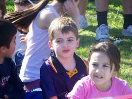 Protagonista del marcha atletica kids 2008