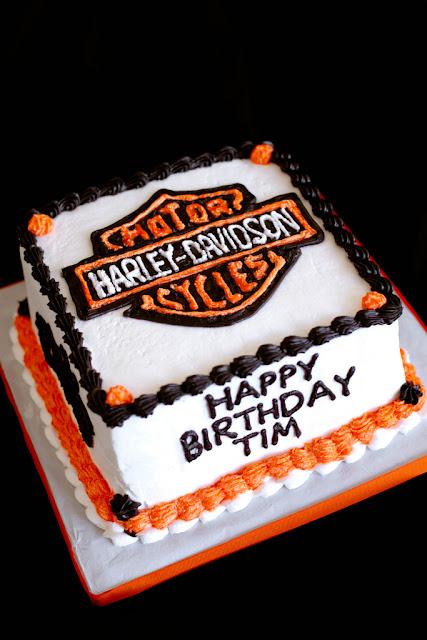 Harley-Davidson Birthday Cakes
