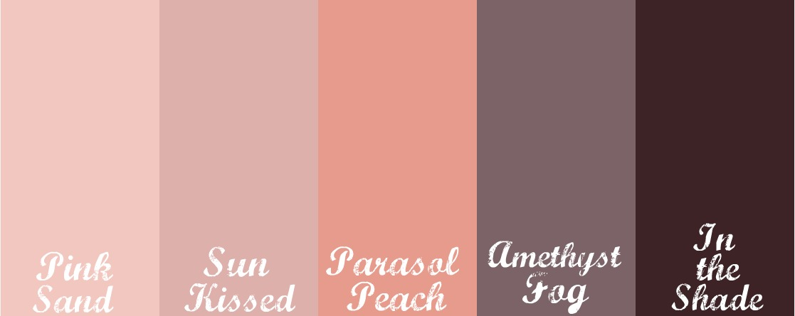 Gallery for peach color palette - Peach color paint palette ...