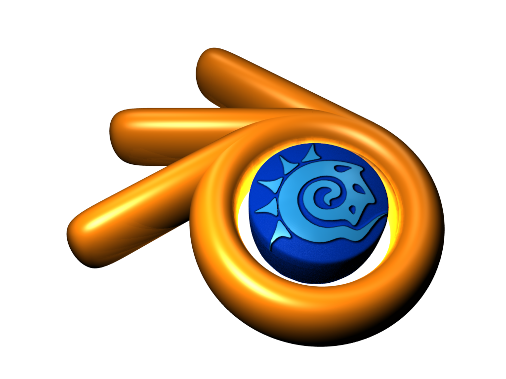 ANIMACION EN 3DBlender Logo
