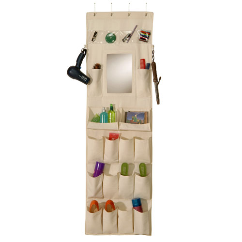 Desire To Organize Canvas Over The Door Organizer With