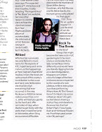 The R&R Gardener was featured in MOJO Music Magazine !!!