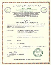 SEVEN+ is certified HALAL by IFRC.