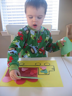 Valentine's Day Truck Craft - No Time For Flash Cards