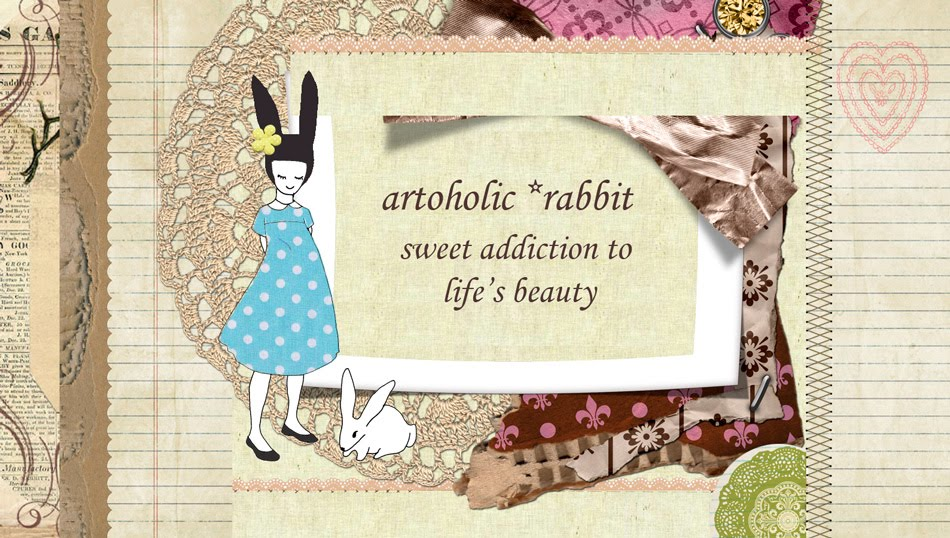 artoholic rabbit- sweet addiction for design