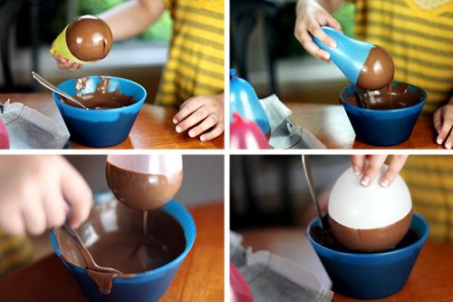 ... - מתכון (Wicked Good Chocolate Peanut Butter Pudding Cups