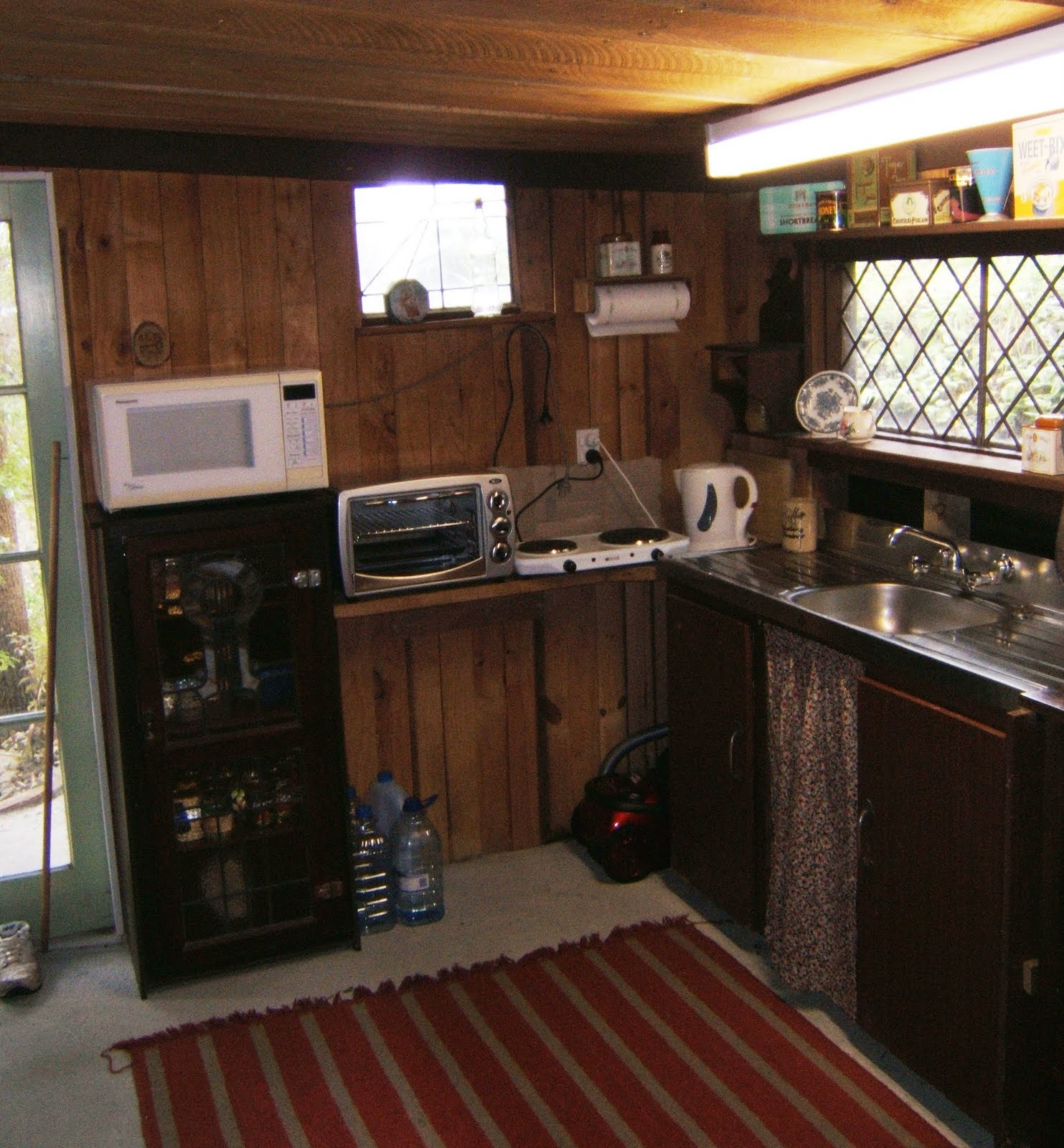 Red Brick Flooring Kitchen Make Mine Mini More Real World Cottage Kitchen
