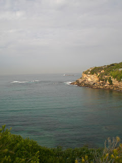 Gordon's Bay, on the way back to Coogee