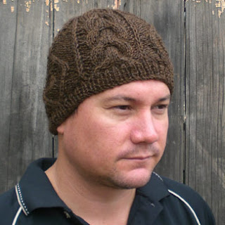 CAMELOT, surf-style beanie with textured Aran stitches