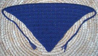 Crochet Pattern: Open Shell Triangle Scarf