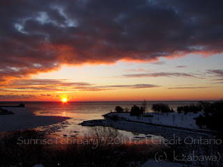 Sunrise Lake Ontario Canada