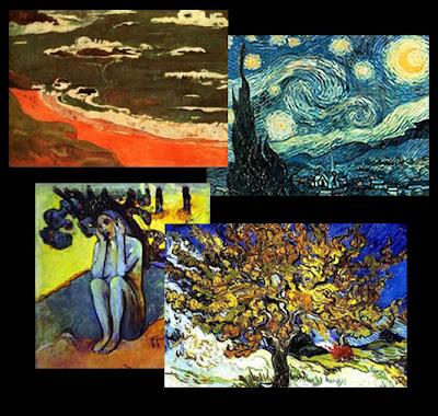 os primeiros sinais da arte abstrata surgem no movimento pós-impressionista