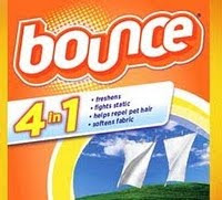 Free sample of bounce from sams club