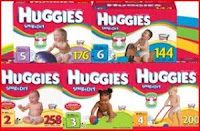 Free Huggies Codes Diapers
