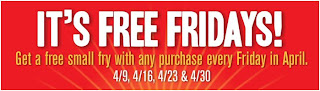 McDonalds Free Fridays French Fries
