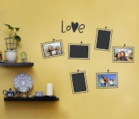 Simple Shapes Vinyl Decal Frames