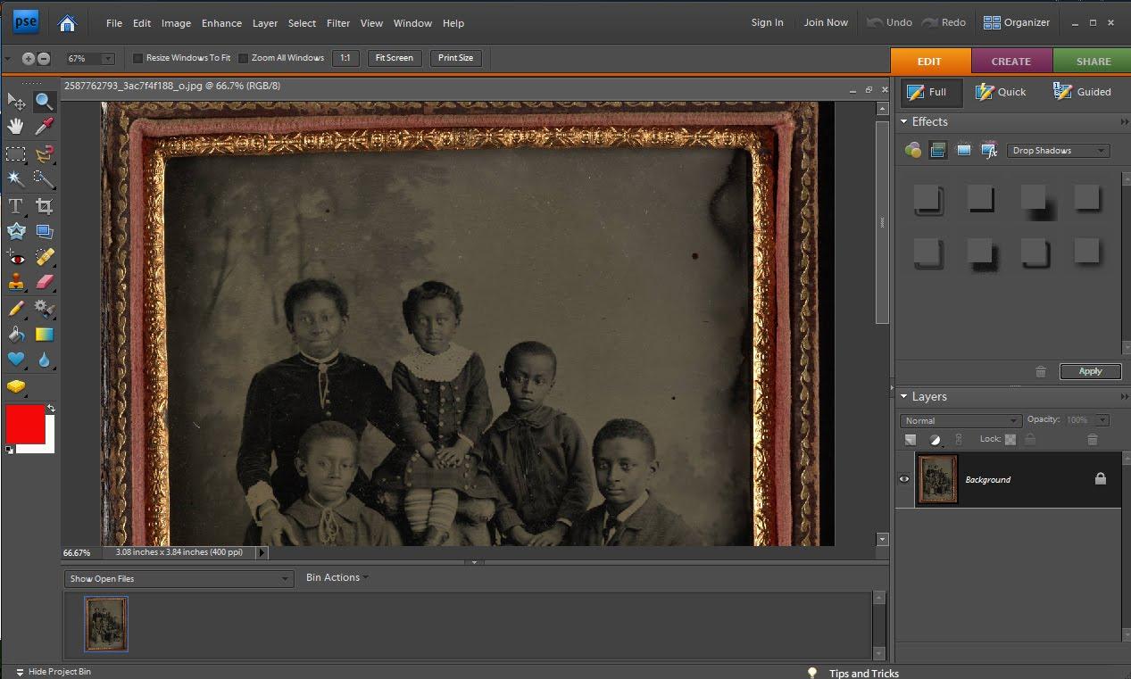 Saving Photos: Amateur Photo