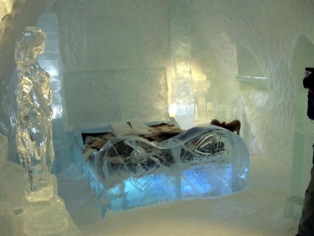 hotel wallpaper. Beautiful Ice Hotel Wallpapers