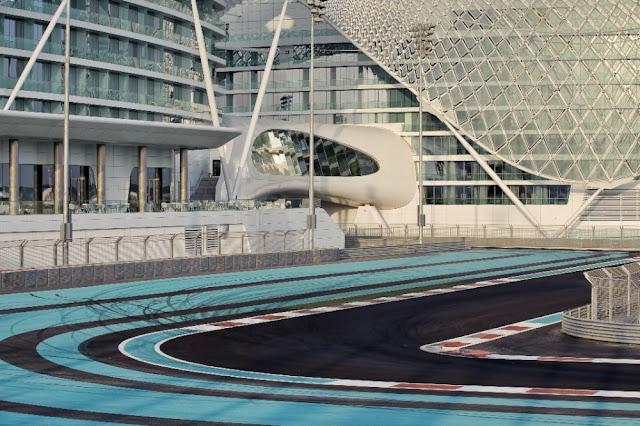 Amassing design the yas hotel asymptote hani rashid for Asymptote architecture yas hotel